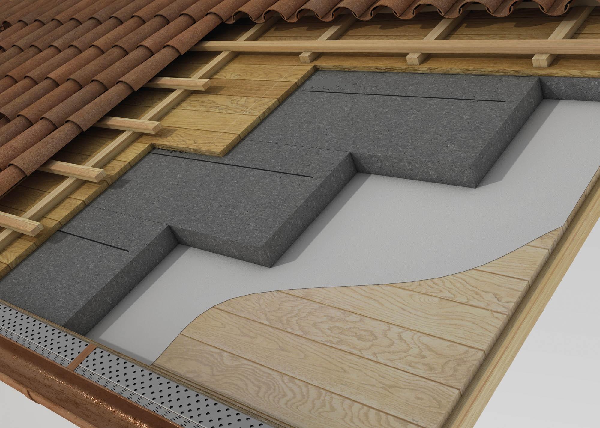 Tetto ventilato e non ventilato isoltherm for Tetti in legno particolari costruttivi